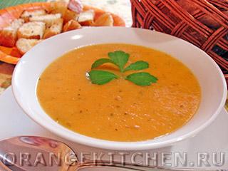Постный морковно-картофельный суп-пюре