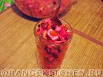 Вегетарианский рецепт винегрета с фасолью