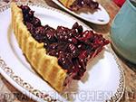 Вегетарианский рецепт вишневого тарта