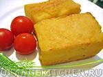 Вегетарианский рецепт жареной поленты из кукурузной муки