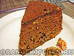 Вегетарианский рецепт постного морковного кекса в мультиварке