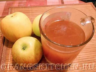 Яблочный кисель без сахара