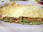 Вегетарианский рецепт быстрой лазаньи