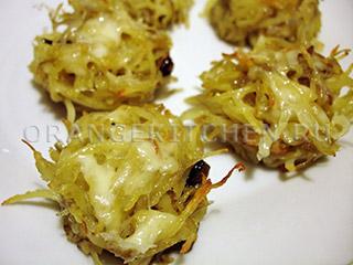 Вегетарианские рёсти – картофельные ежики