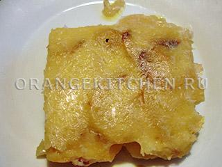 Картофельный гратен без яиц