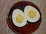 Вегетарианский рецепт яйца из молока