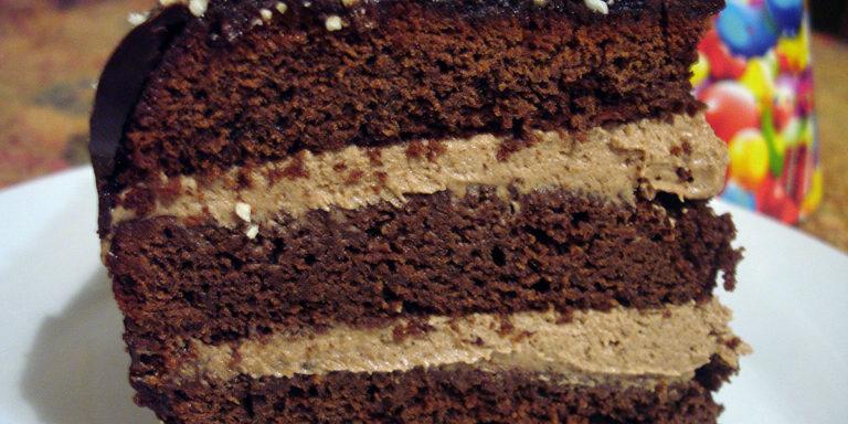 Вегетарианский торт Прага без яиц