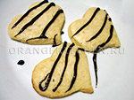 Веганский рецепт печенья сердечки